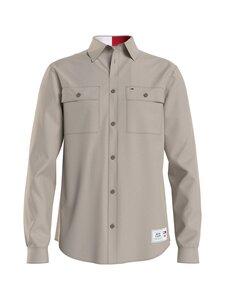 Tommy Jeans - Soft Overshirt -paita - ABI SMOOTH STONE | Stockmann