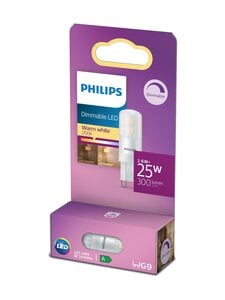 Philips - LED Capsule 25W G9 Warm White Dimmable -polttimo - WHITE | Stockmann