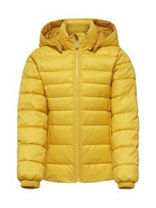 KIDS ONLY - KonTahoe Quilted Hood Jacket -takki - LEMON | Stockmann