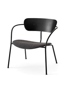&tradition - Pavilion Lounge AV6 -tuoli - BLACK / BLACK MELANGE | Stockmann