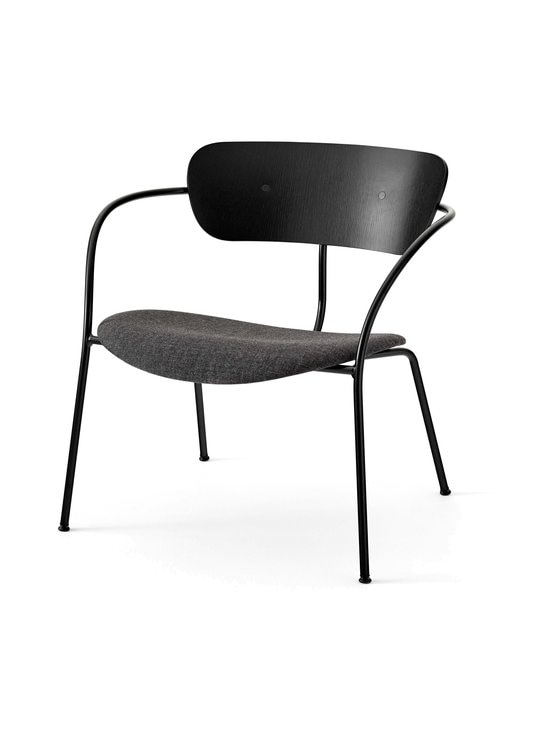 &tradition - Pavilion Lounge AV6 -tuoli - BLACK / BLACK MELANGE | Stockmann - photo 1