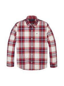 Tommy Hilfiger - Check Shirt -paita - 0QJ RED CHECK 01 | Stockmann