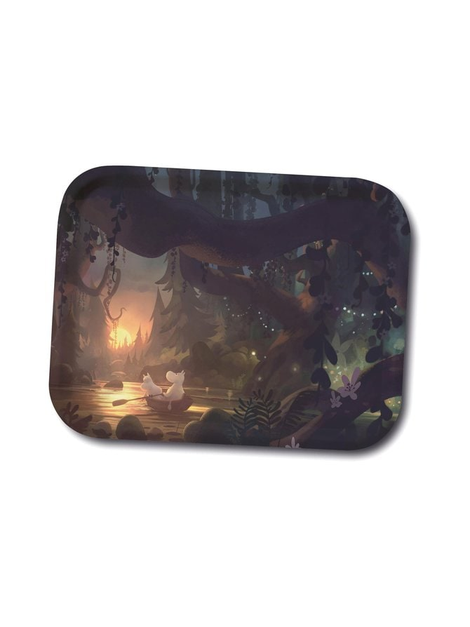 Moominvalley Forest -tarjotin 27 x 20 cm