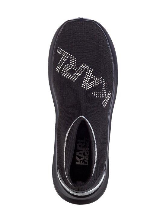 Karl Lagerfeld - Skyline Rhinestone -sneakerit - KOS BLACK KNIT TEXTILE W/SILVER | Stockmann - photo 2