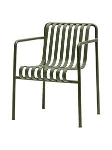 HAY - Palissade Dining -tuoli käsinojilla 63 x 66 cm - OLIVE (OLIIVINVIHREÄ) | Stockmann