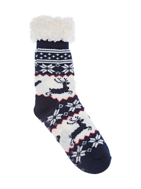 Cuddly Socks - Lapland-sukat - 4901 NAVY/OFFWHITE | Stockmann - photo 1