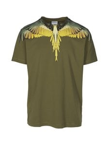 MARCELO BURLON - Wings Basic -paita - 5616 ARMY OCHER | Stockmann