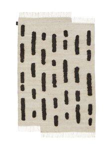 Sera Helsinki - Laine-villamatto 170 x 240 cm - BLACK/WHITE | Stockmann