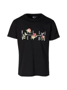 BILLEBEINO - Bird & Flowers T-Shirt -paita - 99 BLACK | Stockmann