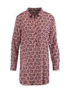 Gerry Weber - Blouse Tunic Printed -pusero - 9107 IVORY/PEONY/BLACK | Stockmann