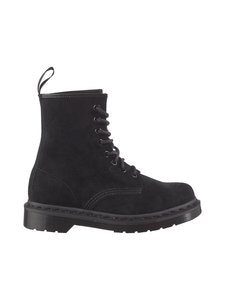 Dr. Martens - 1460 Mono Soft Buck -kengät - 001 BLACK | Stockmann