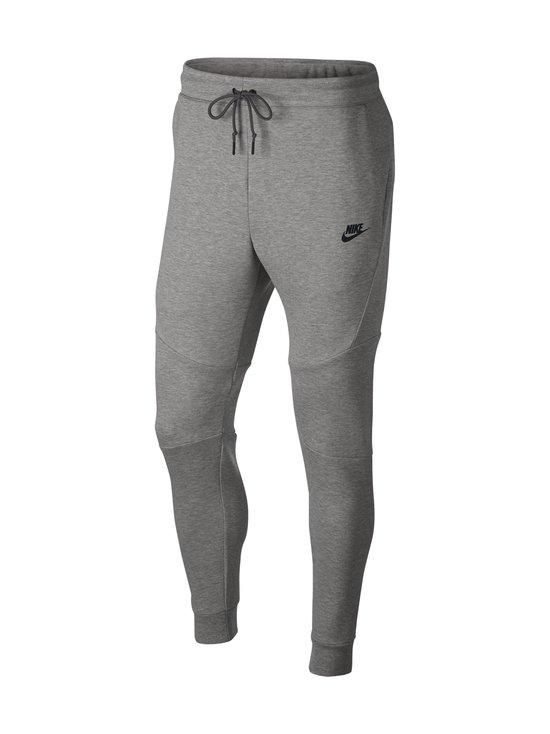 Nike - Tech Fleece -collegehousut - 063 DK GREY HEATHER/BLACK/BLACK | Stockmann - photo 1