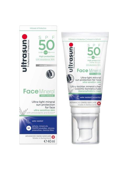 Face Mineral SPF 50 -aurinkosuoja kasvoille 40 ml