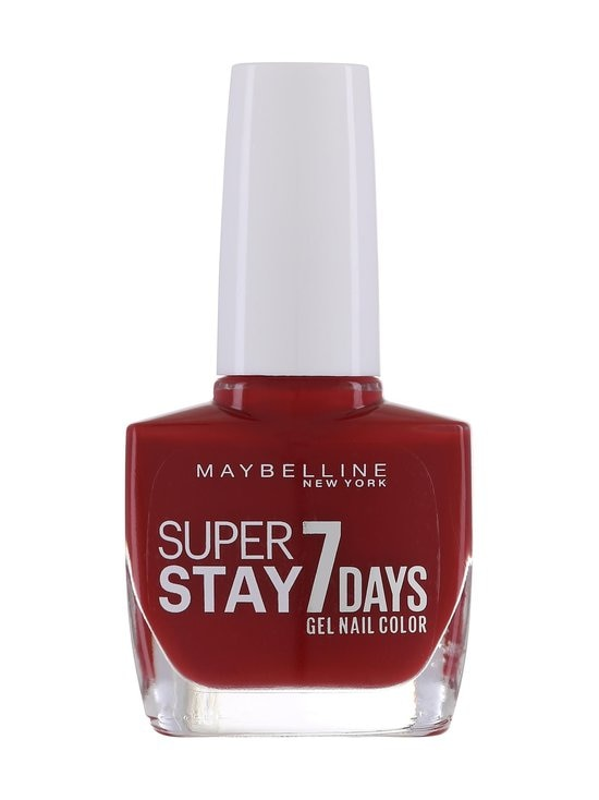 Maybelline - Forever Strong SuperStay 7 Days -kynsilakka - 06 DEEP RED | Stockmann - photo 1