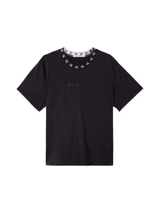 Calvin Klein Jeans Plus - CK Logo Trim SS Tee -paita - BEH CK BLACK | Stockmann - photo 1