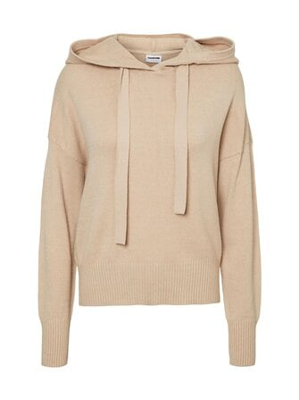 Nmwood knitted hoodie - Noisy may