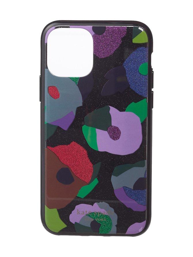 Glitter Floral Collage iPhone 11 Pro -suojakuori