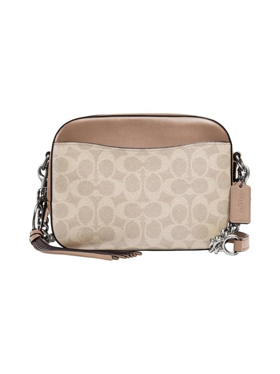 Coach - Camera Bag In Signature Canvas -laukku - LH/SAND TAUPE | Stockmann - photo 1