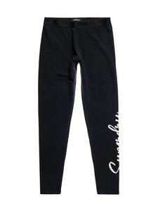 Superdry - Scripted Graphic Legging -leggingsit - 02A BLACK | Stockmann