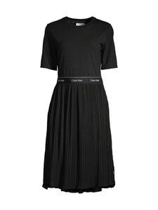 Calvin Klein Womenswear - Jersey Micro Pleat Midi Dress -mekko - BEH CK BLACK | Stockmann