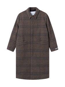 Les Deux - Miguel Wool Coat -villakangastakki - 810335-DARK SAND/MOUNTAIN GREY | Stockmann