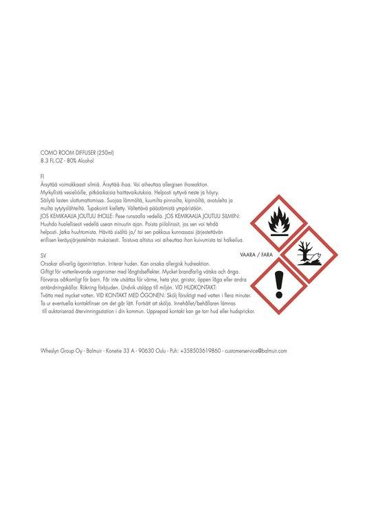 Balmuir - Absinthe Sucrée -diffuuseri 250 ml | Stockmann - photo 2