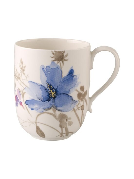 Villeroy & Boch - Mariefleur Gris Basic -latte macciato -muki 0,48 l - VALKOINEN | Stockmann - photo 1