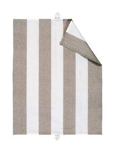 Linum - Ravioli-keittiöpyyhe 50 x 70 cm - MOLE BROWN | Stockmann