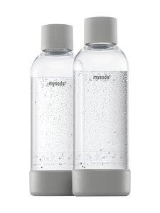 MySoda - Juomapullo 1 l, 2 kpl - GRAY | Stockmann