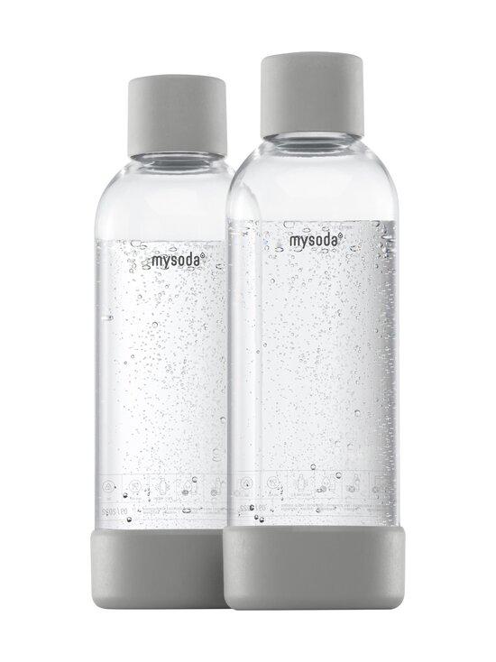 MySoda - Juomapullo 1 l, 2 kpl - GRAY   Stockmann - photo 1