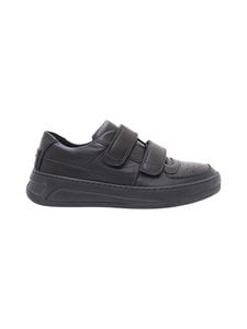 Acne Studios - Steffey-nahkasneakerit - BLACK/BLACK | Stockmann