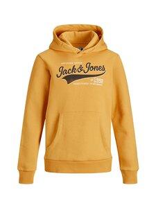 JACK & JONES junior - JJELOGO Sweat Hood -huppari - GOLDEN ORANGE | Stockmann