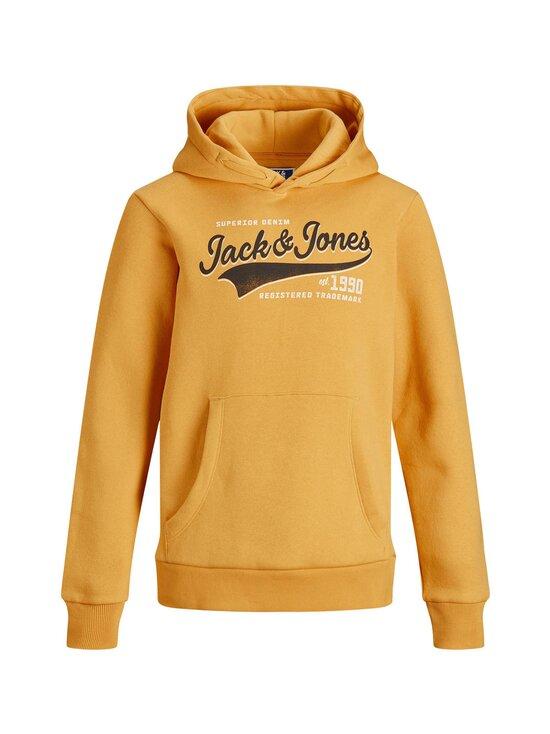 JACK & JONES junior - JJELOGO Sweat Hood -huppari - GOLDEN ORANGE   Stockmann - photo 1