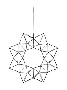 Star - Wreath Edge -kranssi - BLACK | Stockmann