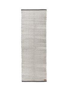 Finlayson - Siperia-matto 90 x 250 cm - VALKOINEN/HARMAA | Stockmann