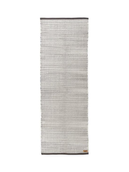 Finlayson - Siperia-matto 90 x 250 cm - VALKOINEN/HARMAA | Stockmann - photo 1