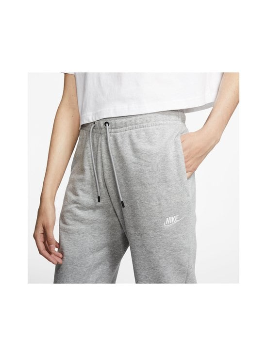 Nike - Essential-collegehousut - 063 DK GREY HEATHER/WHITE | Stockmann - photo 2