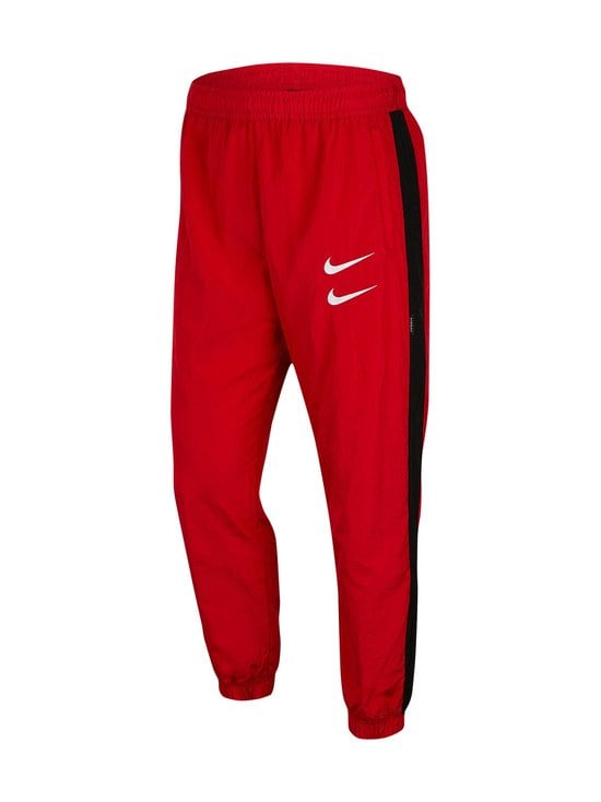 Nike - Swoosh Woven -housut - 657 UNIVERSITY RED/BLACK/WHITE | Stockmann - photo 1