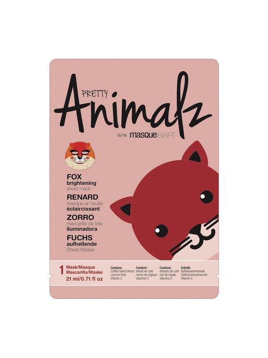 Masque Bar - Pretty Animalz Fox Mask -kangasnaamio 21 ml | Stockmann - photo 1
