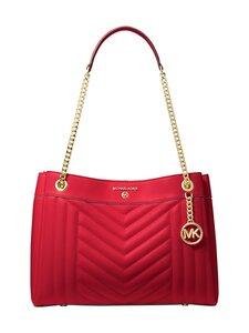 Michael Michael Kors - Susan Medium Quilted Leather Shoulder Bag -nahkalaukku - 683 BRIGHT RED | Stockmann