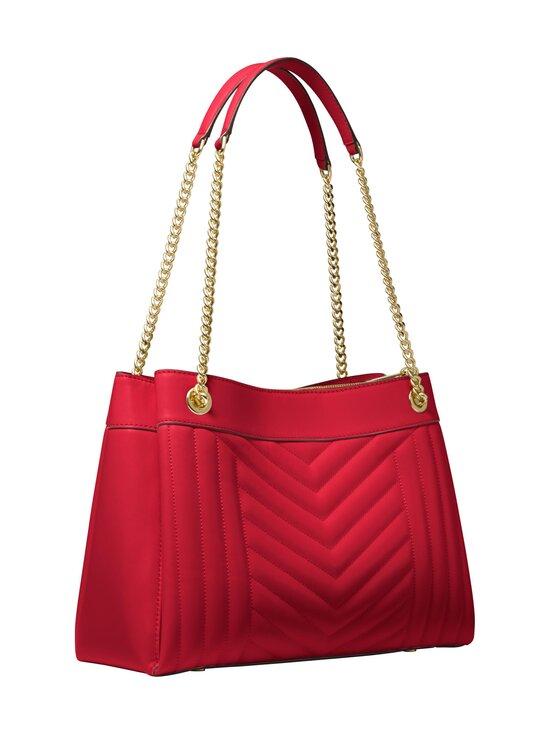 Michael Michael Kors - Susan Medium Quilted Leather Shoulder Bag -nahkalaukku - 683 BRIGHT RED | Stockmann - photo 2