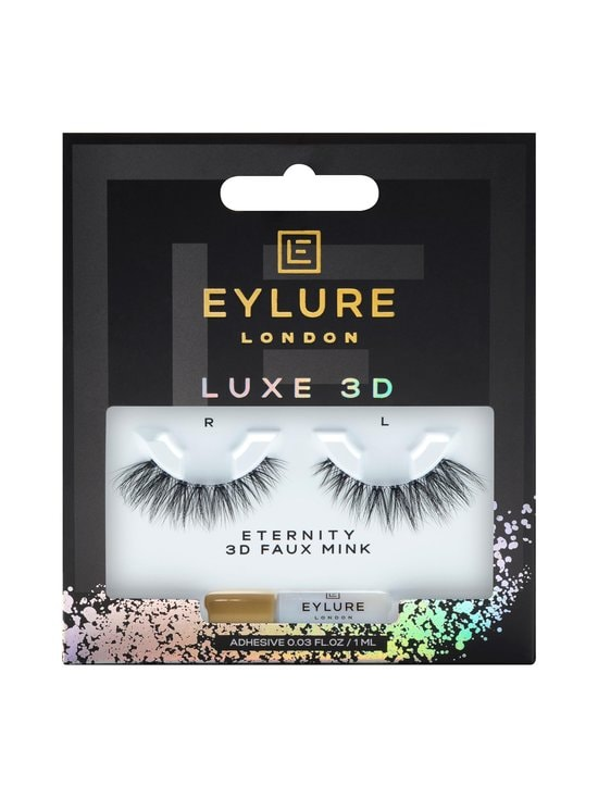 Eylure - The Luxe 3D Eternity Lash -irtoripset - BLACK   Stockmann - photo 1