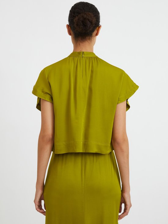 Rodebjer - Lau Satin Blouse -pusero - SUNNY LIME | Stockmann - photo 2