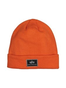 Alpha Industries - X-Fit Beanie -pipo - FLAME ORANGE 417 | Stockmann