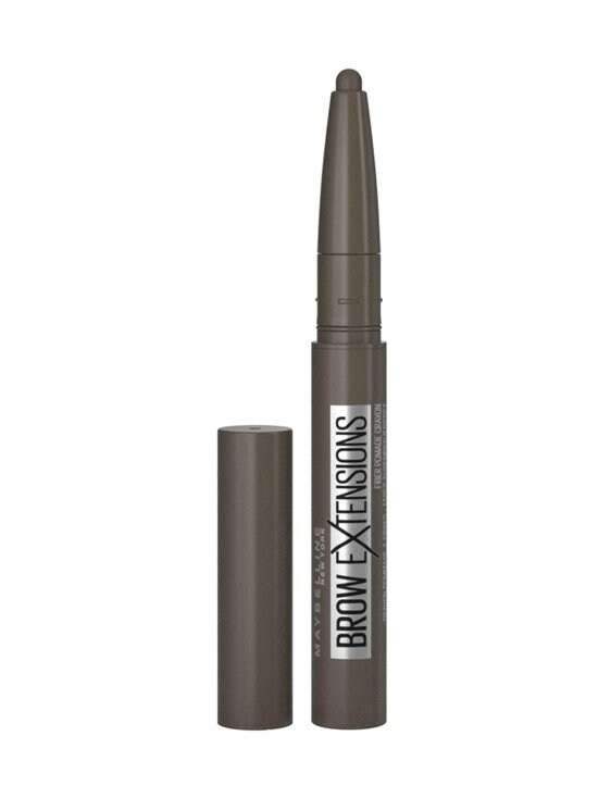 Maybelline - Brow Extensions Fiber-Packed Pomade Crayon Brow Pencil -kulmakynä 0,4 g - 07 BLACK BROWN | Stockmann - photo 1