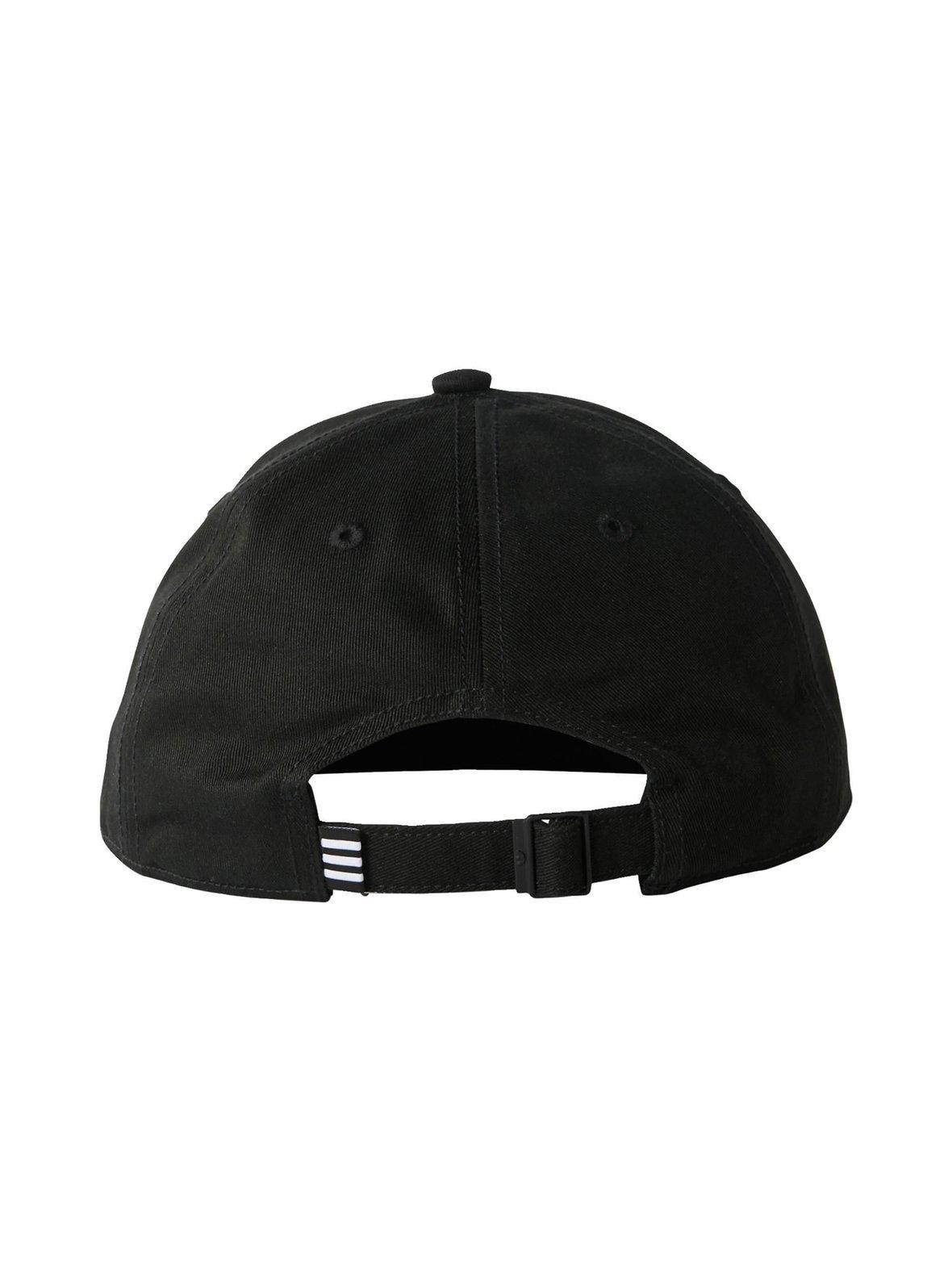 Musta Adidas Originals Trefoil Classic Cap -lippalakki BK7277  c35e64df98