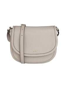 kate spade new york - Roulette Large Saddle Bag -nahkalaukku - WARM TAUPE | Stockmann