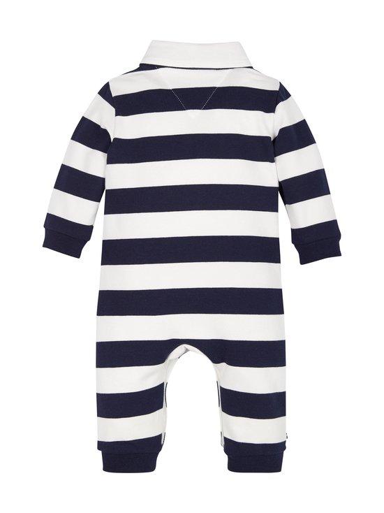Tommy Hilfiger - Baby Rugby Stripe -haalari - 0A4 TWILIGHT NAVY/ WHITE | Stockmann - photo 2