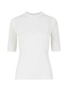J.Lindeberg - Heather Knitted T-Shirt -neulepaita - 0000 WHITE | Stockmann