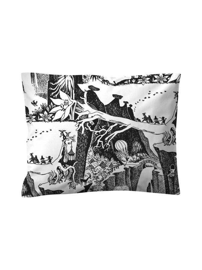 Seikkailumuumi-tyynyliina 50 x 60 cm